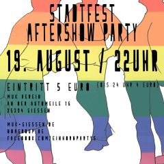 Gay and Friends Stadtfest AfterShow Party
