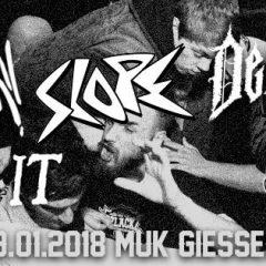 AUSVERKAUFT! Harm/Shelter, Deluminator, Torch it, Second Sight at MuK Gießen