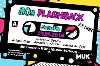 Flashback 80er Party