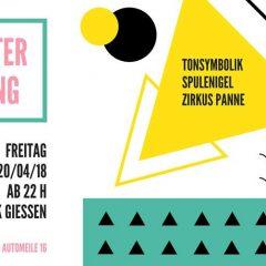 Semester Opening m/ Spulenigel, Tonsymbolik & Zirkus Panne