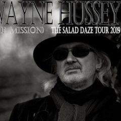 Wayne Hussey – Salad Daze – Gießen / Support: Pleil
