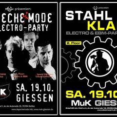 Depeche Mode- & Electro/EBM-Party auf 2 Floors