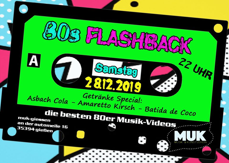 Flashback 80`s Party